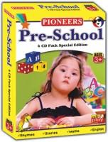 PIONEERS PRESCHOOL 4 CD PACK FOR CHILDREN KIDS ENGLISH(DVD English)