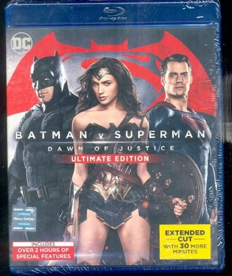 Batman V Superman: Dawn of Justice - Ultimate Edition BD(Blu-ray English)
