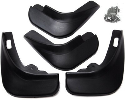Oscar Cars Front Mud Guard, Rear Mud Guard For Nissan Micra 2014