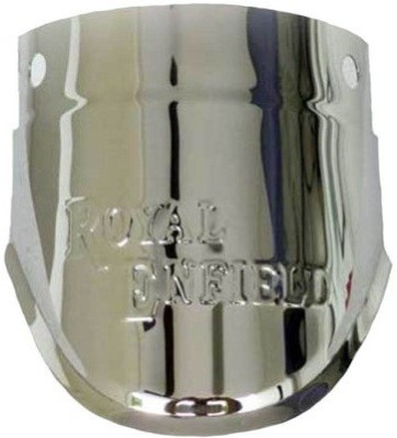 ACCESSOREEZ Bikes Front Mud Guard For Royal Enfield Classic 500 2013(Silver)