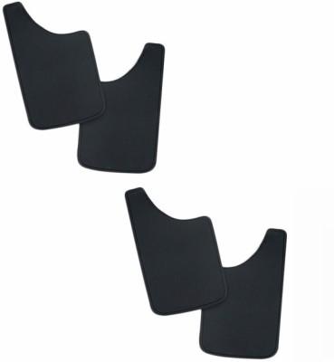 Speedwav Cars Front Mud Guard For Ford Figo(Black)