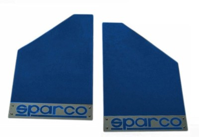 Sparco Cars Front Mud Guard, Rear Mud Guard For Maruti New Swift 2015(Blue)