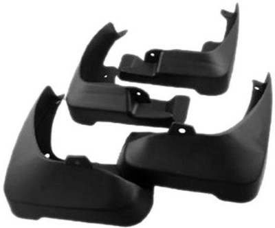 MP Cars Front Mud Guard, Rear Mud Guard For Volkswagen Polo NA(Black)