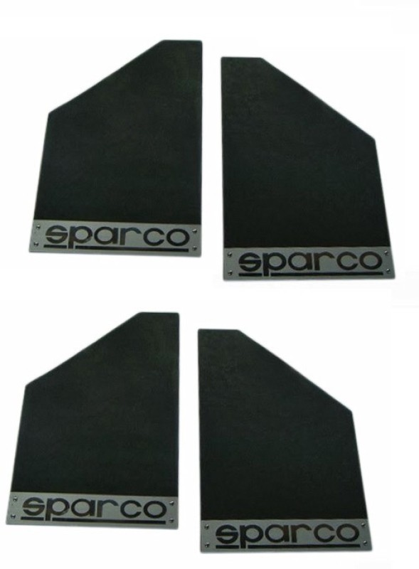Sparco Cars Front Mud Guard For Maruti Swift(Black)
