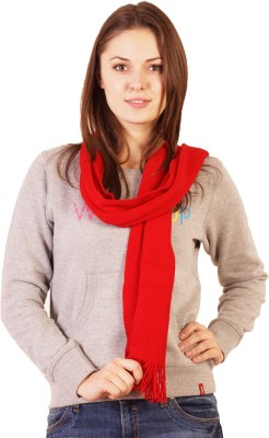 Wake Up Competition Solid Women's Muffler