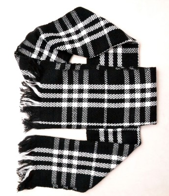 Lord&Lady Checkered Mens Muffler