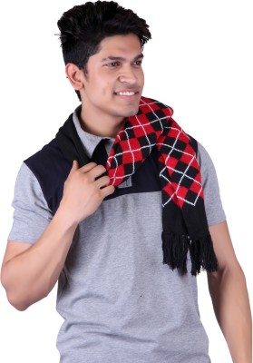 Gajraj Woolen Self Design Men's Muffler