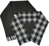 Brandonn Checkered Men's Muffler (Pack o...