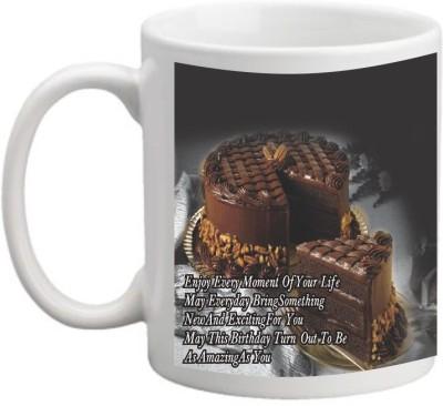 Printocare Happy Birthday  Ceramic Mug