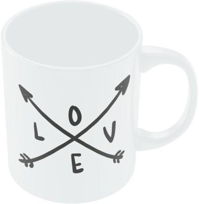PosterGuy Love Arrow Valentine,s Day Coffee Ceramic Mug