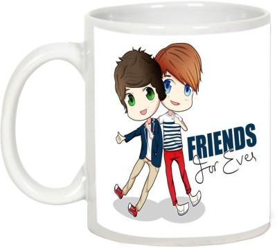 AllUPrints Gift For Friend - Friends Forever Both Ceramic Mug