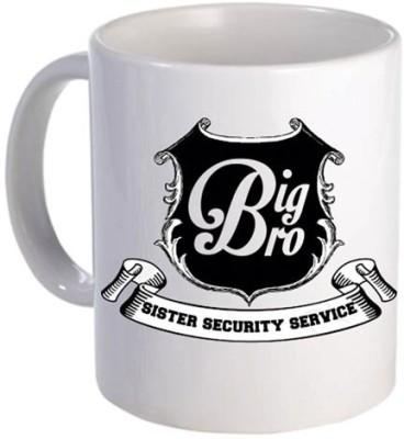 Giftsmate Sister Security Service Big Brother Ceramic Mug