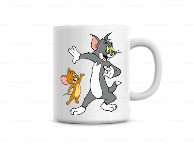 Huppme Tom & Jeery  Ceramic Mug