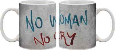 Artifa No Woman No Cry Porcelain, Ceramic Mug