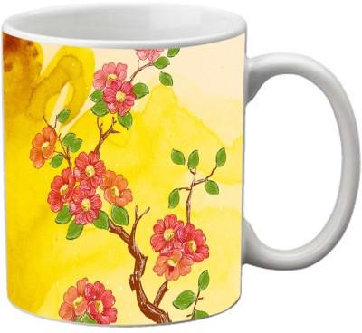 Romanshopping Flowers  Bone China Mug