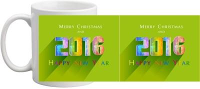 Printocare Merry Christmas  4 Ceramic Mug