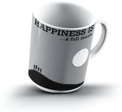 Ucard Happiness Is1117 Bone China, Ceramic, Porcelain Mug