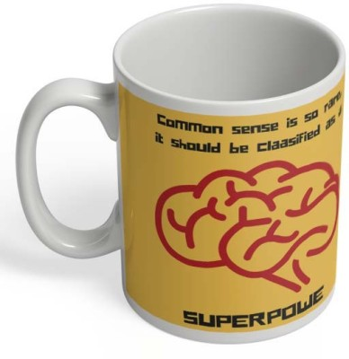 PosterGuy Common Sense -> My Superpower Common, Sense, Super, Superpower, Power, Rare, Classified Ceramic Mug