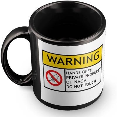 posterchacha Naga Do Not Touch Warning Ceramic Mug