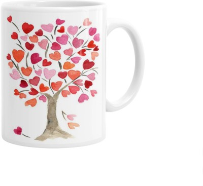 Hainaworld Couples Love Tree Coffee  Ceramic Mug