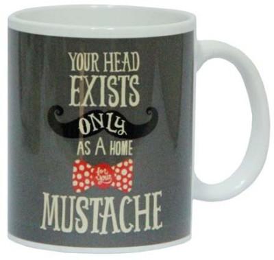 Gifts By Meeta Mustache Dad  Ceramic Mug