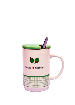 Enfin Homes Table Tennis Porcelain Mug