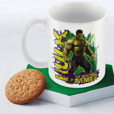Posterboy Hulk - The Incredible Officially Licensed (Pack Of 1) Ceramic Mug