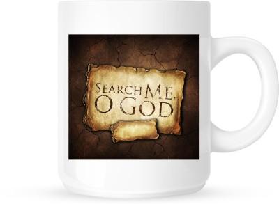 Huppme Search Me O God  Ceramic Mug