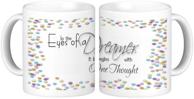 Shopmillions Eyes Of Dream Ceramic Mug