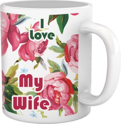 Tiedribbons I Love My Wife Coffee Ceramic Mug