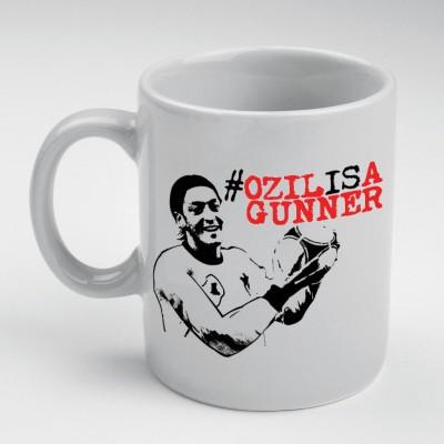 Prokyde Prokyde Ozil Is Gunner Red  Ceramic Mug