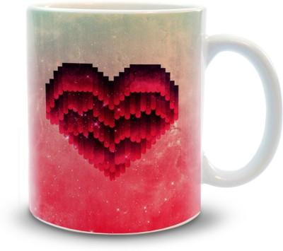 Shoppers Bucket Shoppers Bucket Love Ceramic Coffee Ceramic Mug(300 ml)