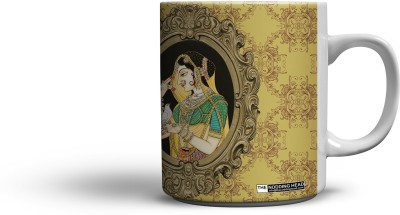 The Nodding Head Queen Ceramic Mug