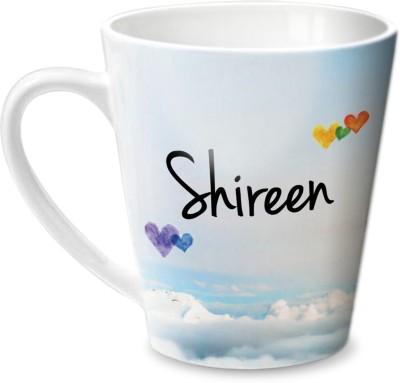 Hot Muggs Simply Love You Shireen Conical  Ceramic Mug