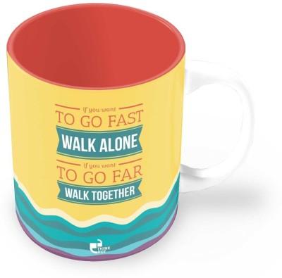 Thinkpot If You Want Go Far - Ceramic Mug