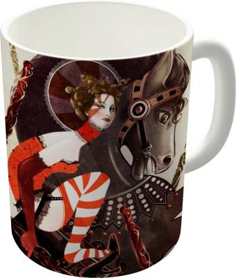Dreambolic Amanda Palmer Six Of Wands Ceramic Mug