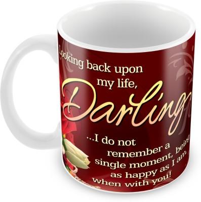 Fashion Envoy Be My Life Valentine  Ceramic Mug