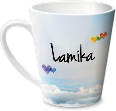 Hot Muggs Simply Love You Lamika Conical  Ceramic Mug