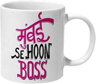 Mooch Wale Mumbai Se Hoon Boss Ceramic Mug