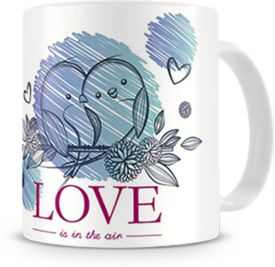 Print Haat Birds Love Ceramic Mug