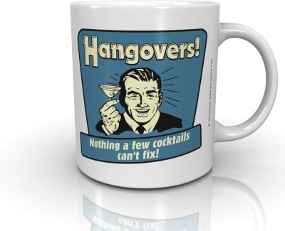 Bcreative Hangovers! Nothing A Few Cocktails Can,t Fix! (Officially Licensed) Ceramic Mug
