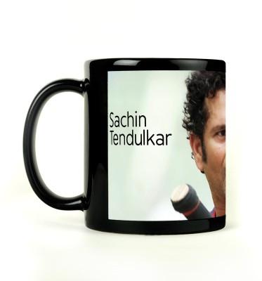 AURRA PRINTED BLACK-205 Ceramic Mug