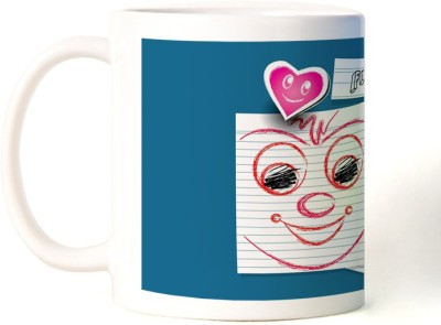 Rockmantra Paper Note Happy Friendship Day Ceramic Mug