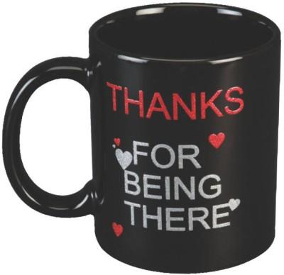 Red Moments Thanks Ceramic Mug