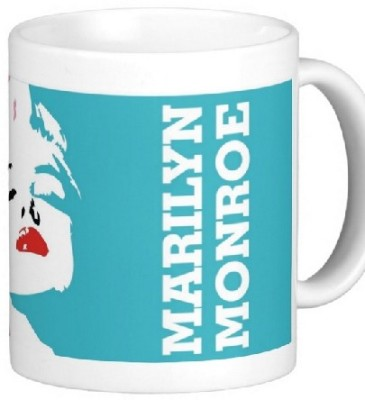 Easyhome Marilyn Monroe fashion Ceramic Mug