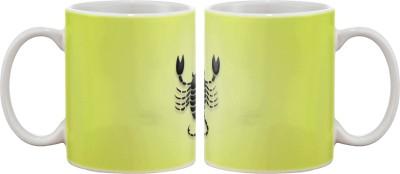 Artifa Scorpio Porcelain, Ceramic Mug