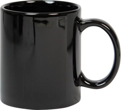 CreativesKart Glossy Black  Ceramic Mug