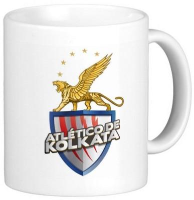 Exoctic Silver ISL Atletico De Kolkata Ceramic Mug