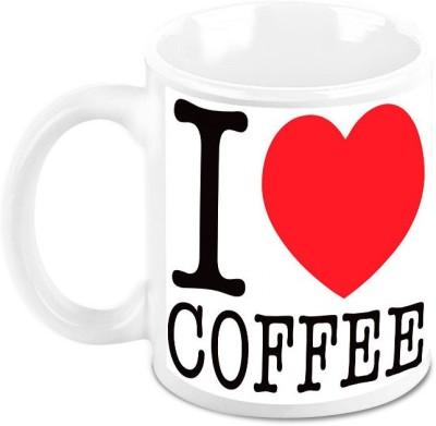 HomeSoGood Coffee Kick Starts A Friendship Quote Ceramic Mug