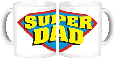 Shopmillions Super Dad Ceramic Mug
